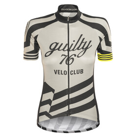 guilty 76 racing Velo Club Pro Race Bike Jersey Shortsleeve Women grey